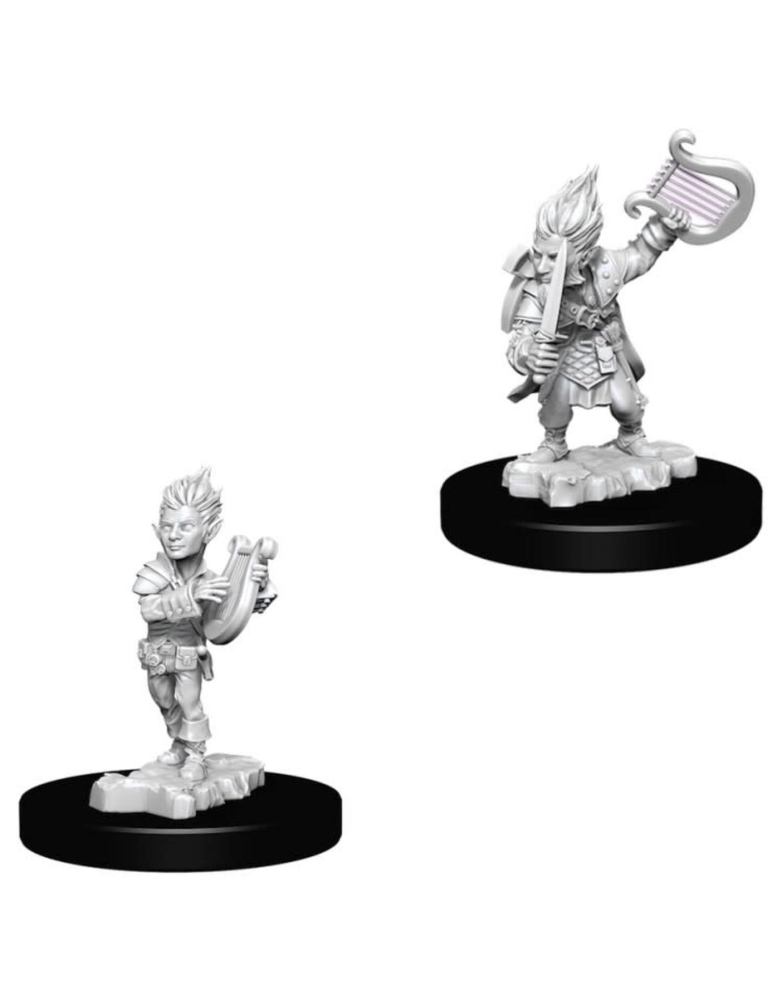 WizKids Pathfinder Minis (unpainted): Gnome Bard (male) Wave 5, 73344