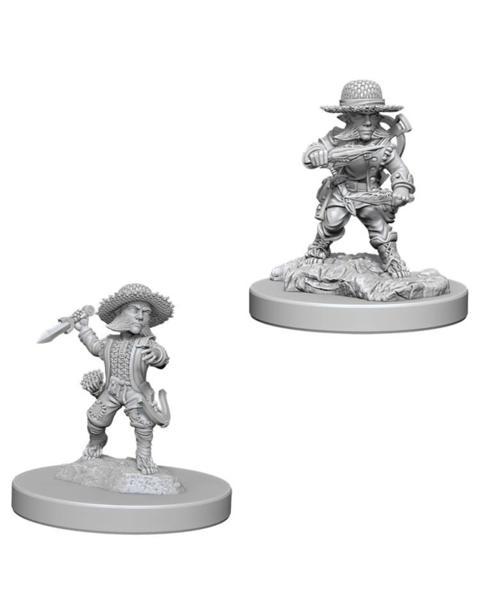 WizKids Pathfinder Minis (unpainted): Halfling Rogue (male) Wave 6, 73407