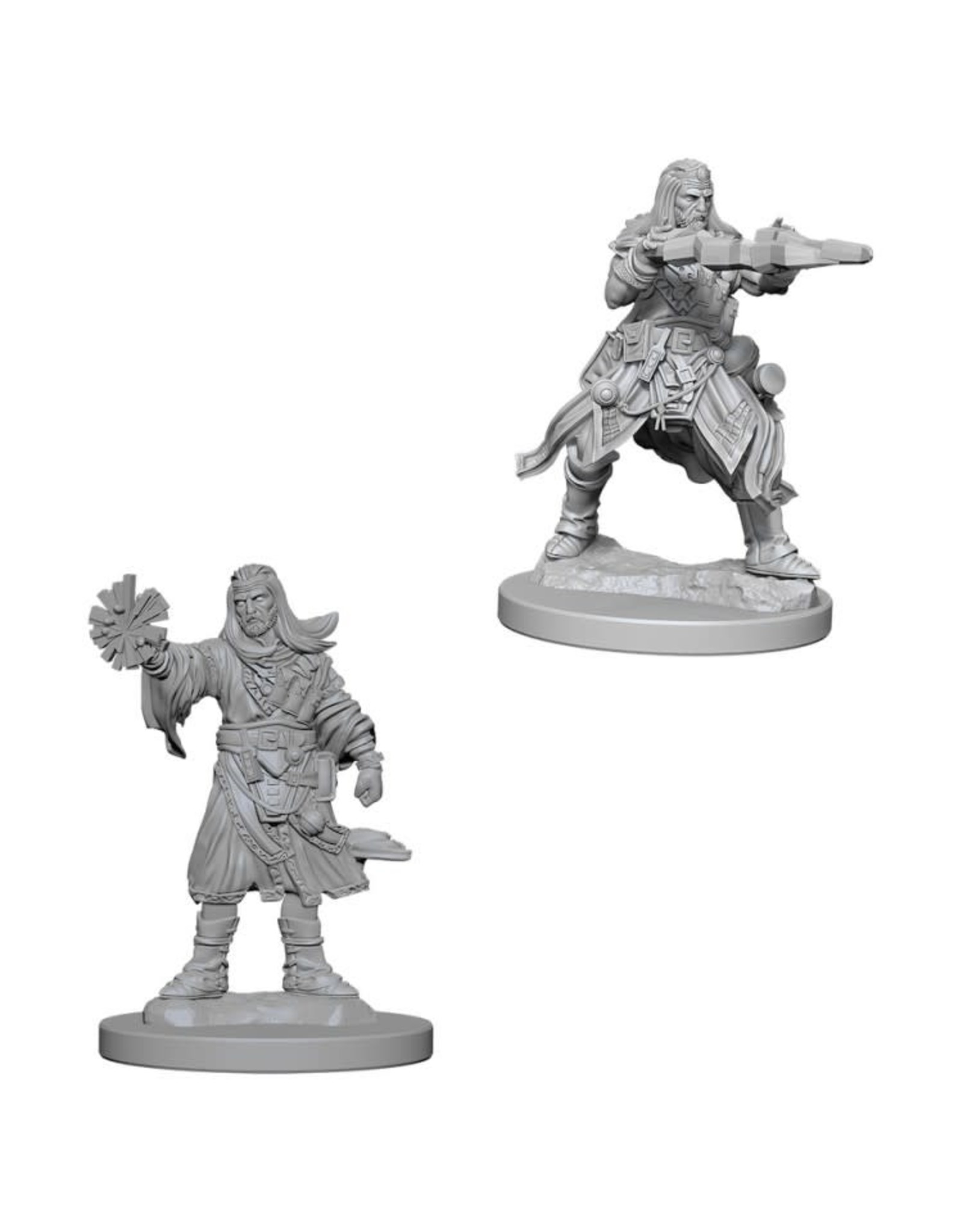 WizKids Pathfinder Minis (unpainted): Human Wizard (male) Wave 6, 73411