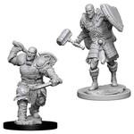 WizKids D&D Minis (unpainted): Goliath Fighter (male) Wave 7, 73541