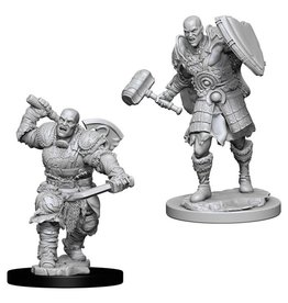 WizKids D&D Minis (unpainted): Goliath Fighter (male) Wave 7, 73541