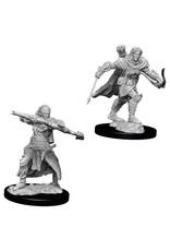 WizKids Pathfinder Minis (unpainted): Half-Elf Ranger (male) Wave 7, 73544