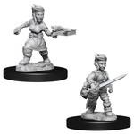 WizKids Pathfinder Minis (unpainted): Halfling Rogue (female) Wave 8, 73695