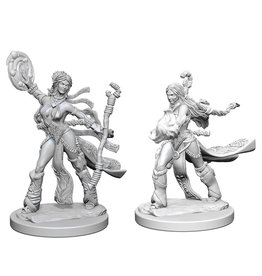 WizKids Pathfinder Minis (unpainted): Human Sorcerer (female) Wave 1, 72604