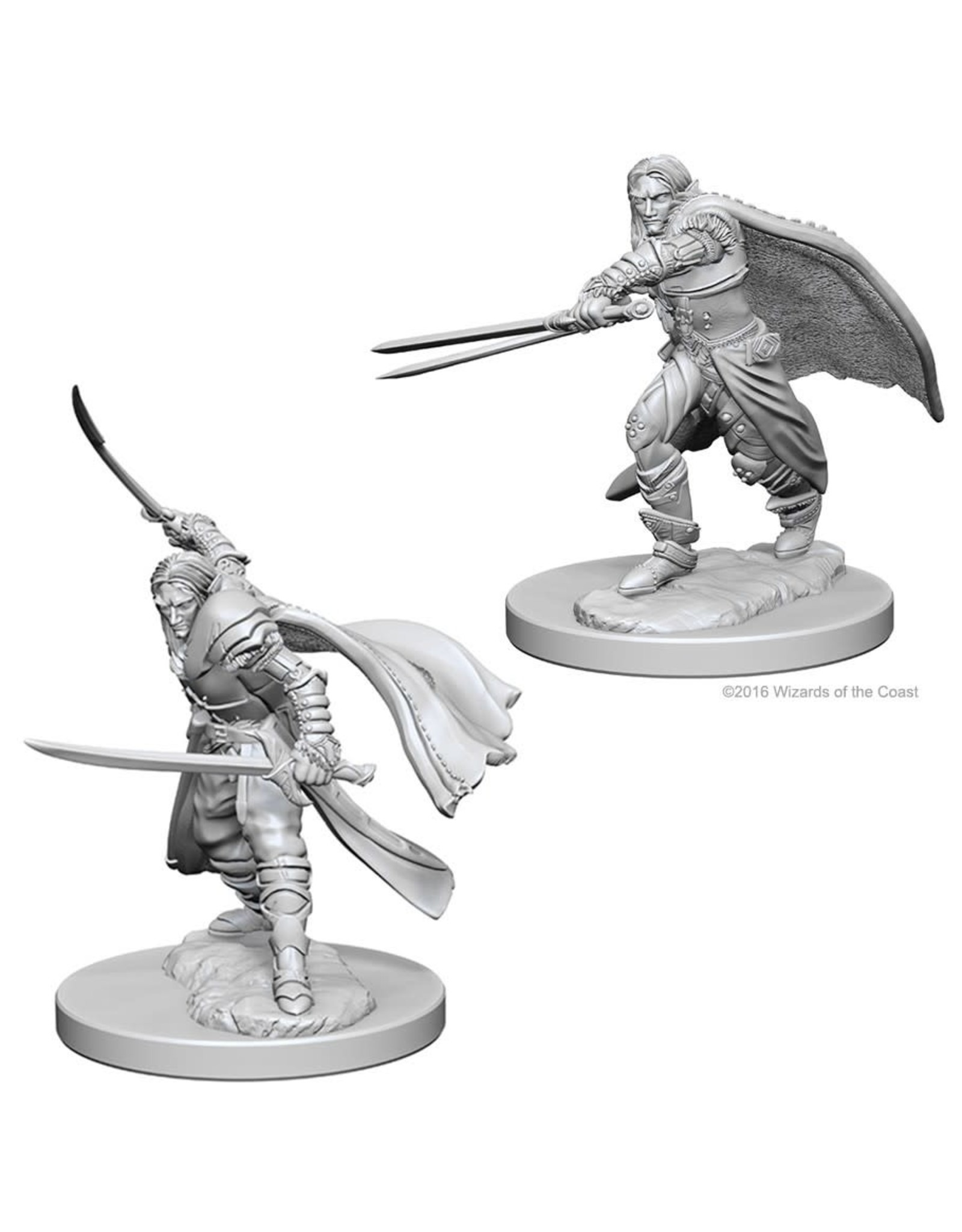 WizKids D&D Minis (unpainted): Elf Ranger (male) Wave 1, 72637