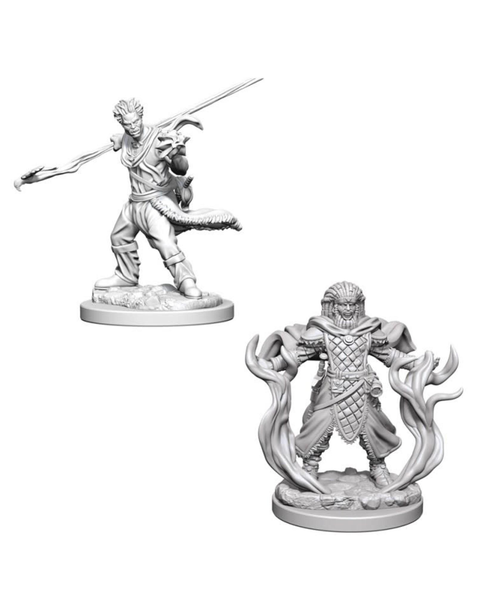 WizKids D&D Minis (unpainted): Human Druid (male) Wave 3, 72639
