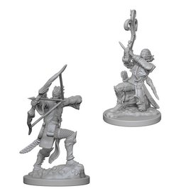 WizKids D&D Minis (unpainted): Elf Bard (male) Wave 4, 72633