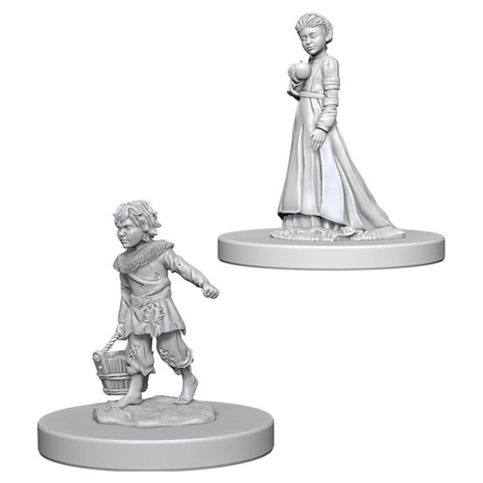 WizKids Pathfinder Minis (unpainted): Children Wave 4, 73183