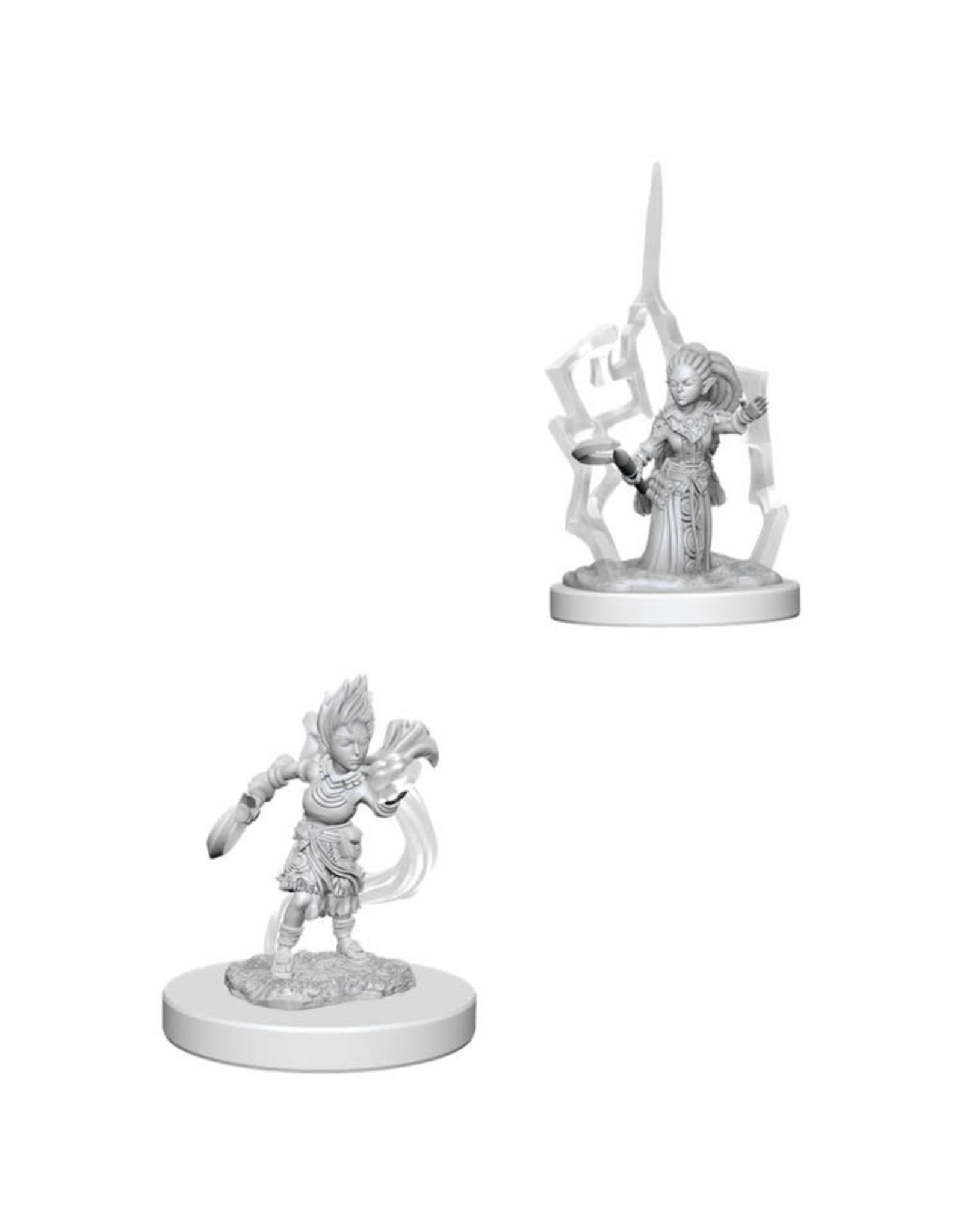 WizKids Pathfinder Minis (unpainted): Gnome Druid (female) Wave 5, 73347