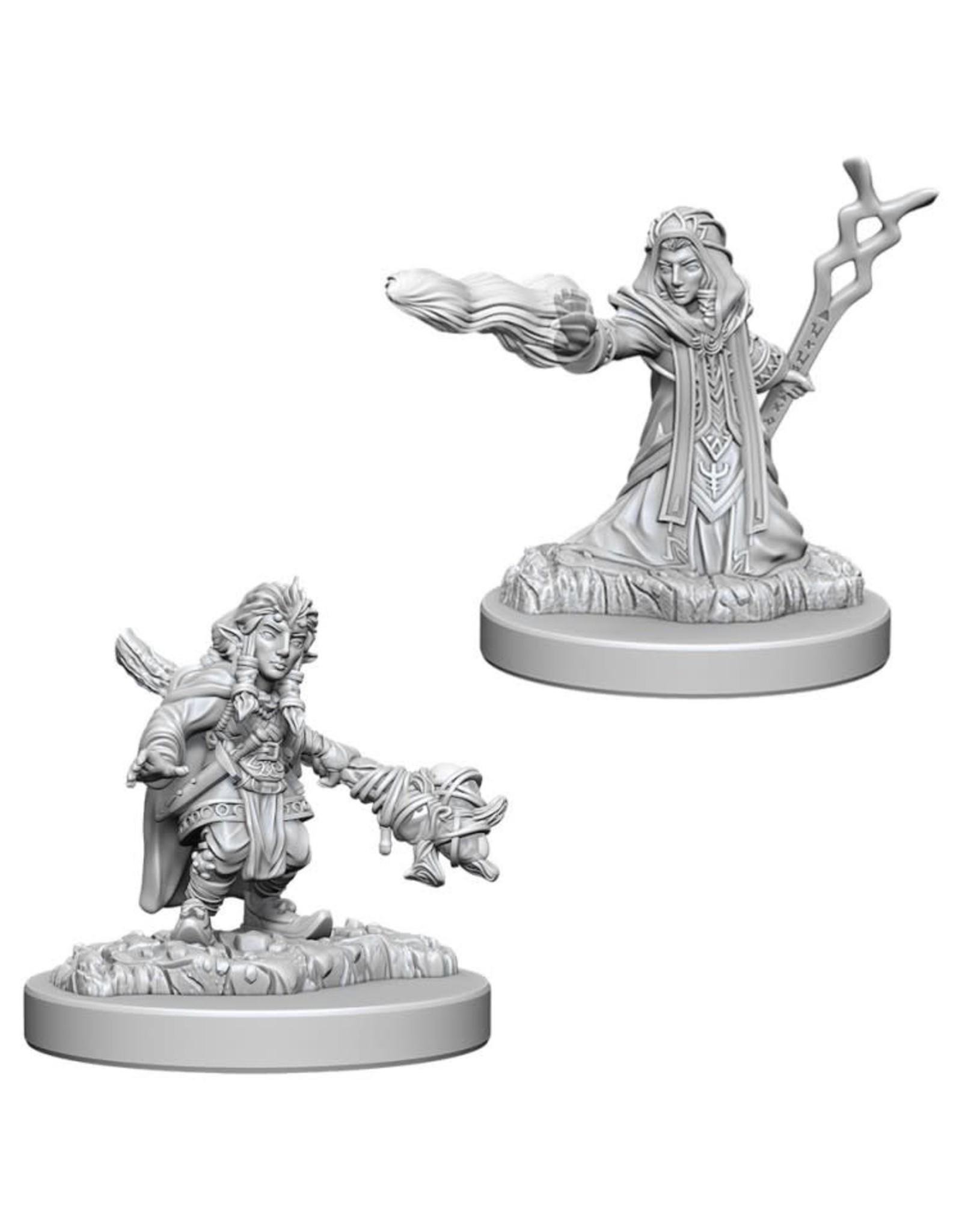 WizKids D&D Minis (unpainted): Gnome Wizard (female) Wave 6, 73383