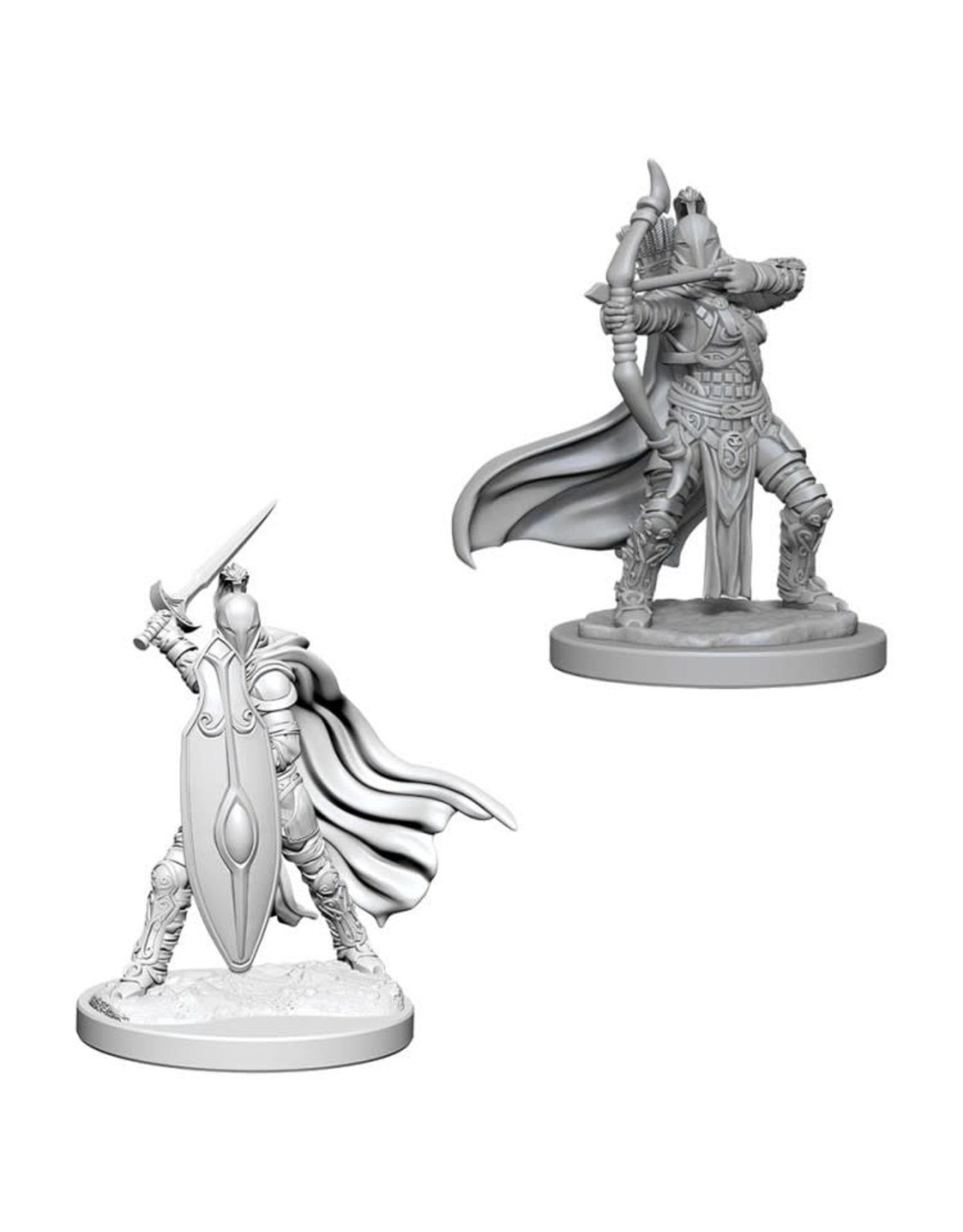 WizKids Pathfinder Minis (unpainted): Female Knights/Gray Maidens Wave 6, 73425