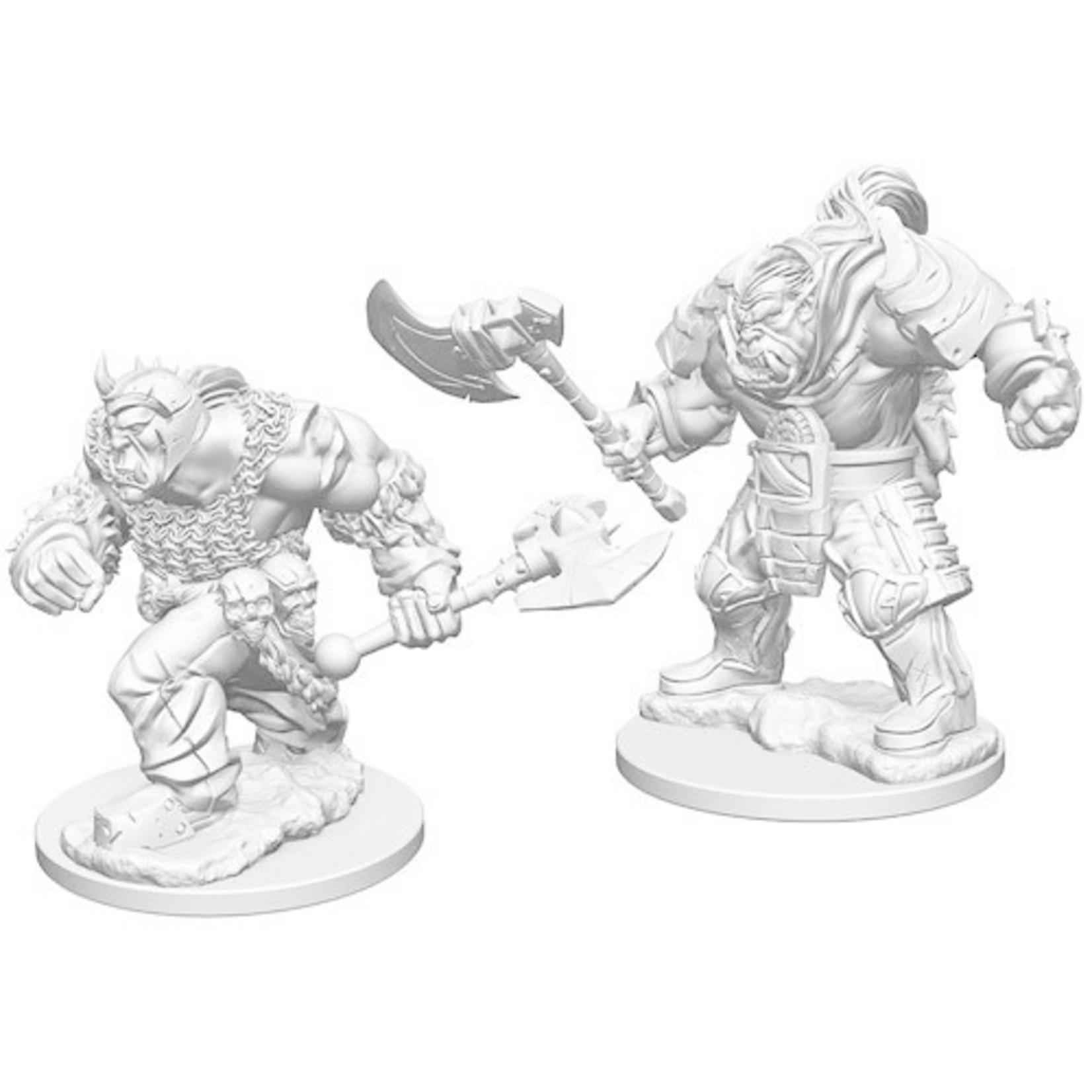 WizKids D&D Minis (unpainted): Orcs Wave 1, 72560
