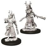 WizKids D&D Minis (unpainted): Human Druid (female) Wave 9, 73701