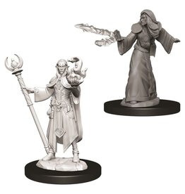 WizKids D&D Minis (unpainted): Elf Wizard (male)