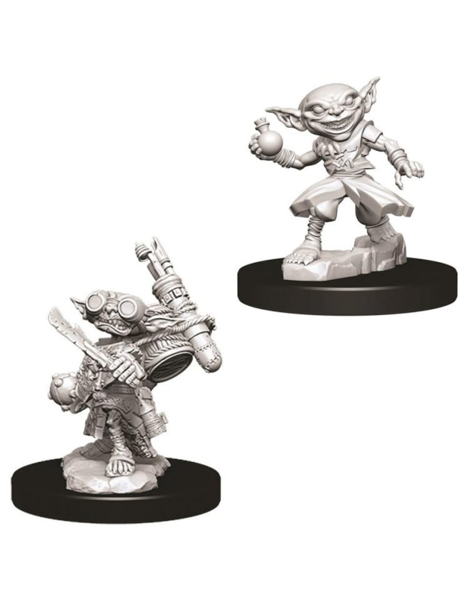 WizKids Pathfinder Minis (unpainted): Goblin Alchemist (male) Wave 9, 73720