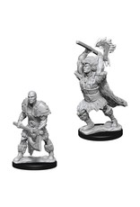 WizKids D&D Minis (unpainted): Goliath Barbarian (male) Wave 10, 73833
