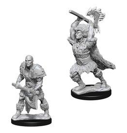 WizKids D&D Minis (unpainted): Goliath Barbarian (male) Wave 10, 73833
