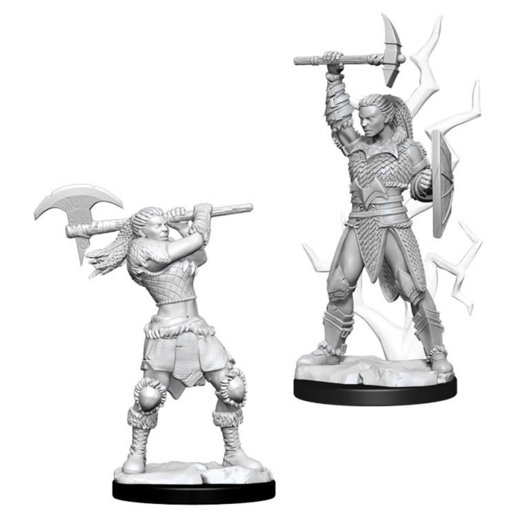 WizKids D&D Minis (unpainted): Goliath Barbarian (female) Wave 10, 73834