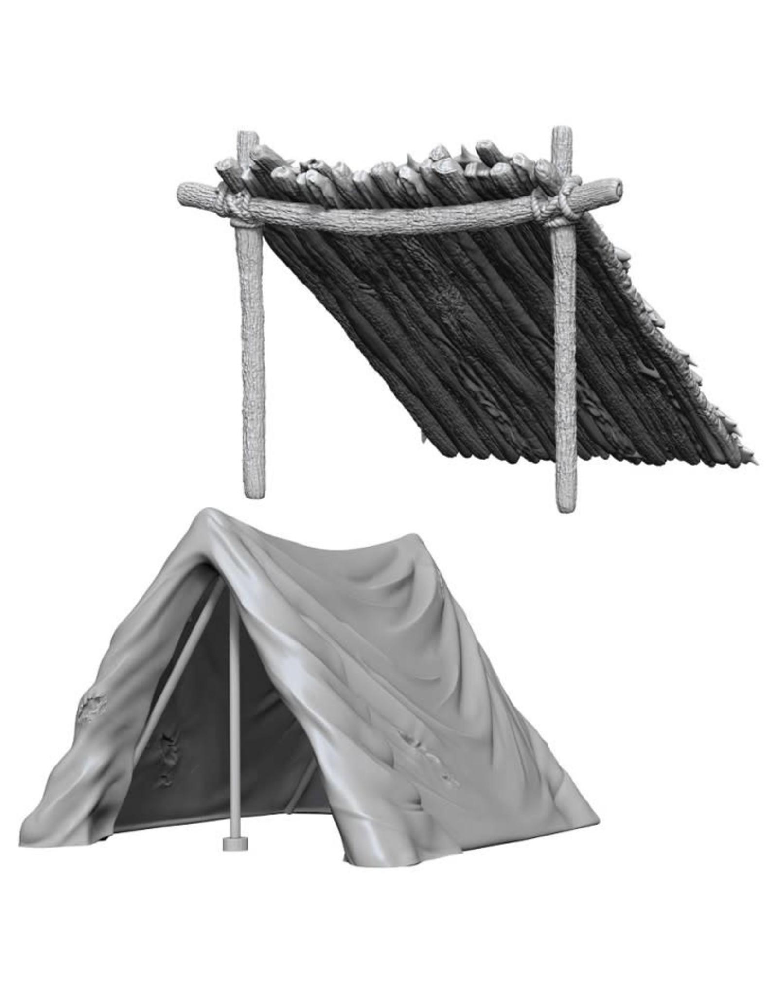 WizKids D&D Minis (unpainted): Tent & Lean-To Wave 10, 73858
