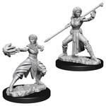 WizKids D&D Minis (unpainted): Half-Elf Monk (female) Wave 10, 73839