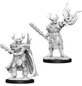 WizKids Pathfinder Minis (unpainted): Half-Orc Druid (male)