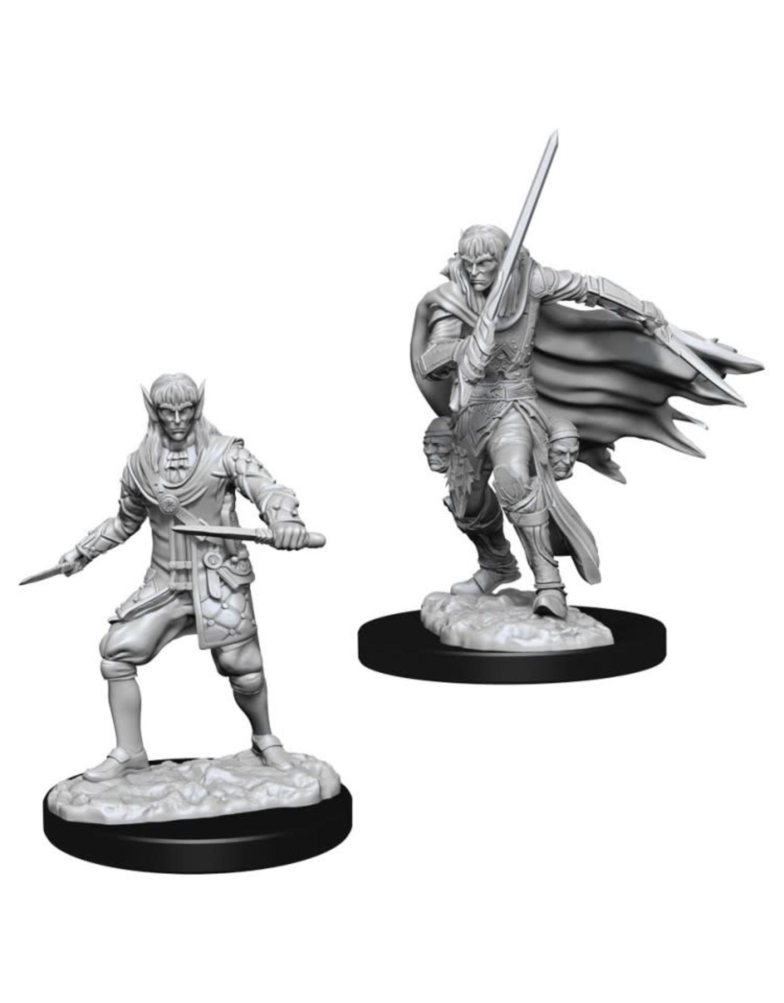 WizKids Pathfinder Minis (unpainted): Elf Rogue (male) Wave 10, 73854