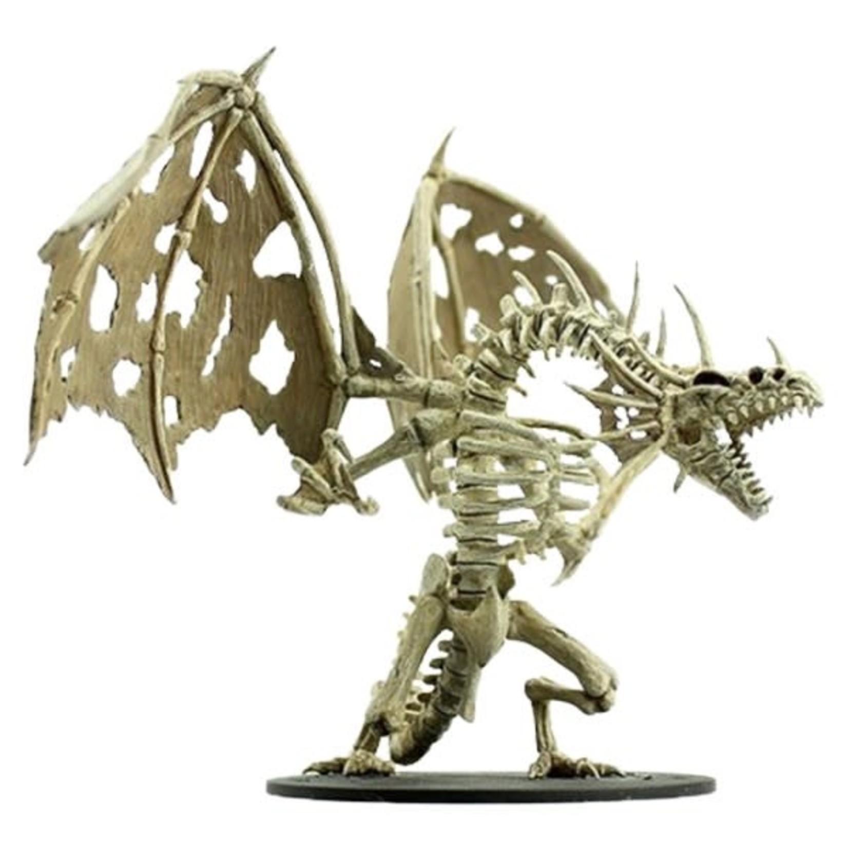 WizKids Pathfinder Minis (unpainted): Gargantuan Skeletal Dragon Wave 11, 90039