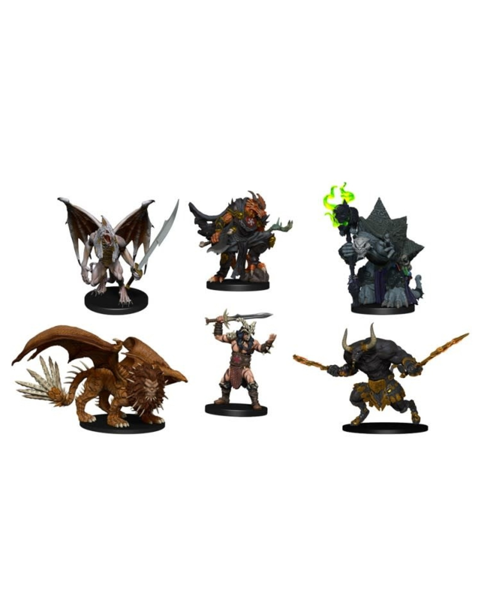 WizKids D&D Minis (painted): Arkhan the Cruel and the Dark Order
