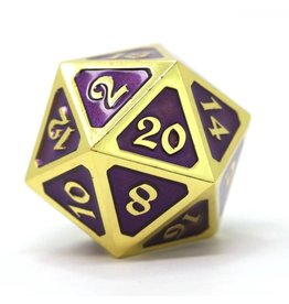 Die Hard Dice DHD: Dire d20 Mythica Gold Amethyst