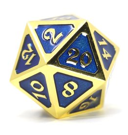 Die Hard Dice DHD: Dire d20 Mythica Gold Sapphire