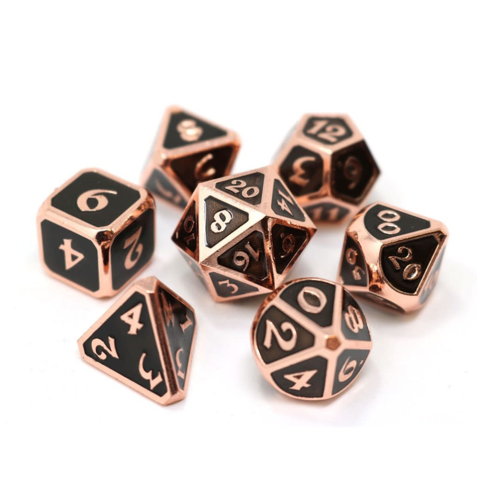 Die Hard Dice 7-Set Dice: Mythica Copper Onyx