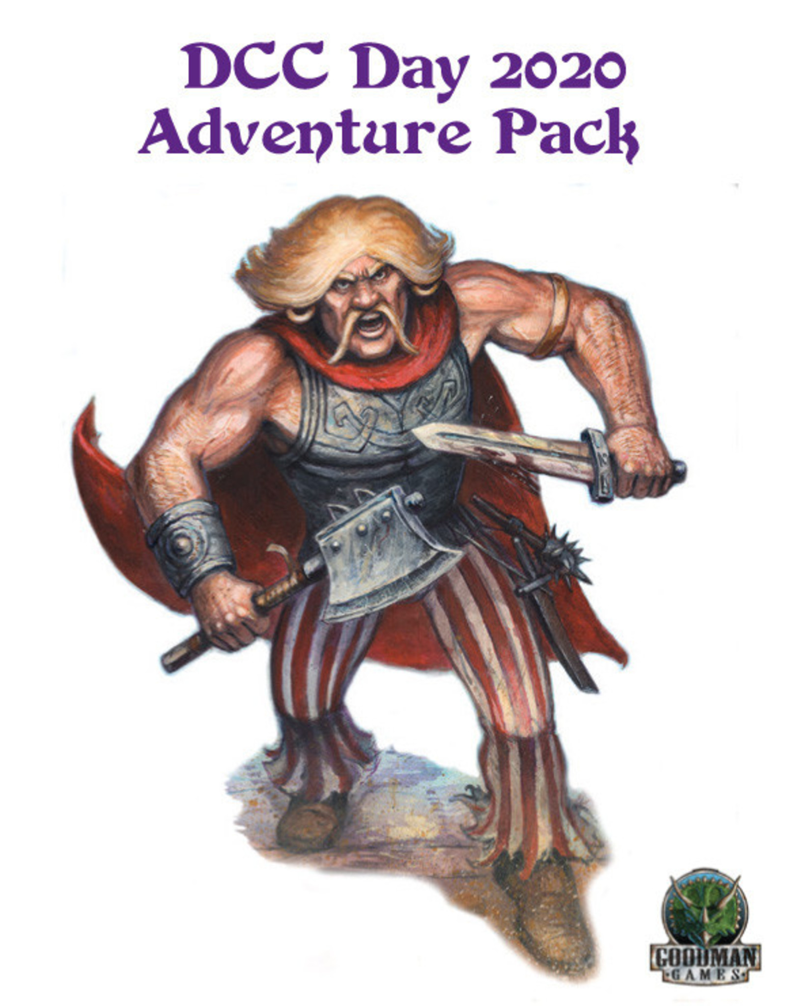 Goodman Games Dungeon Crawl Classics: DCC Day 2020 Adventure Pack