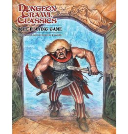 Goodman Games Dungeon Crawl Classics Core - Angry Hugh Cover