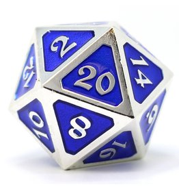 Die Hard Dice DHD: Dire D20 Mythica Platinum Sapphire