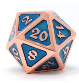 Die Hard Dice DHD: Dire D20 Mythica Copper Aquamarine