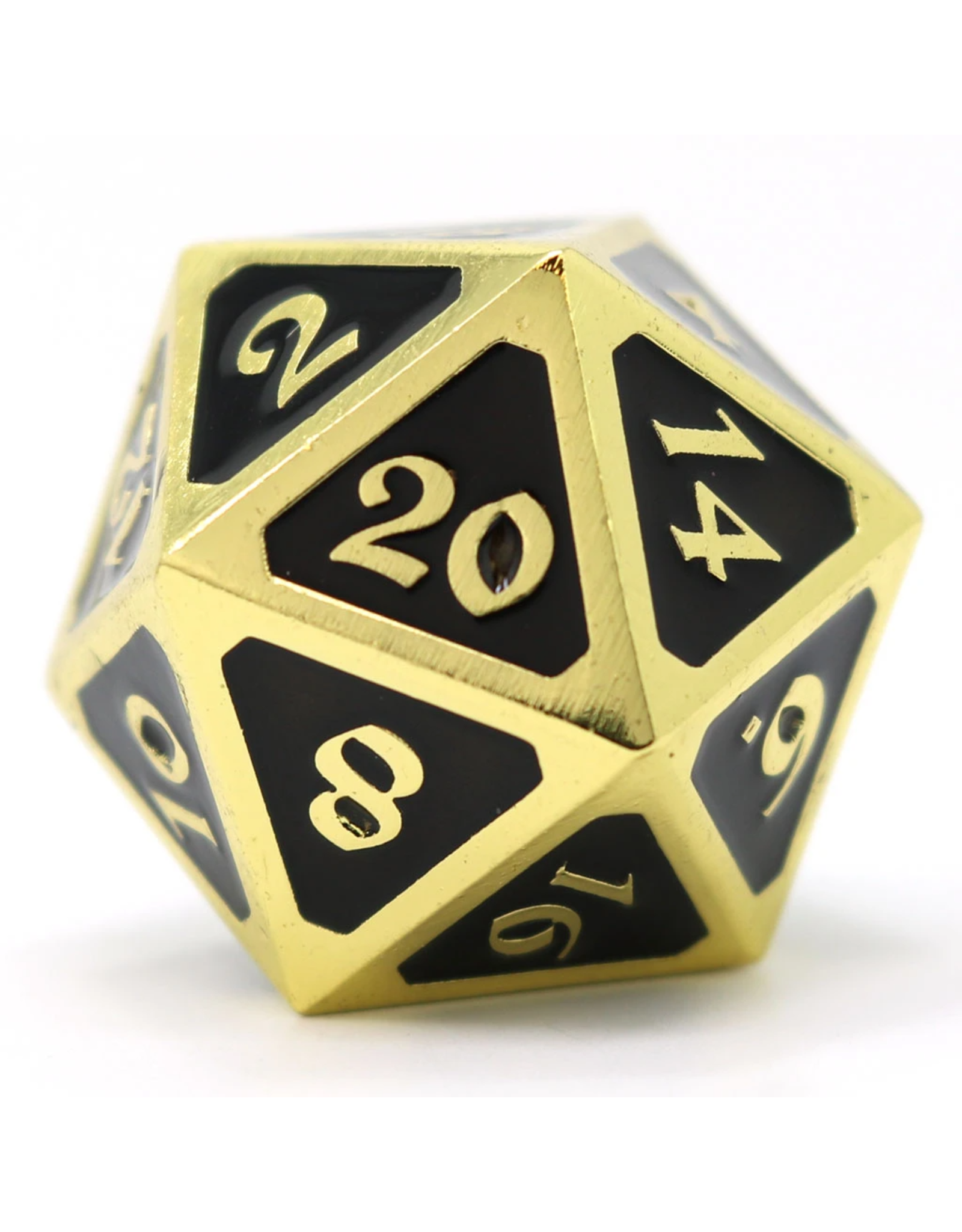 Die Hard Dice Die Hard Dice: Dire D20 Mythica Gold Onyx