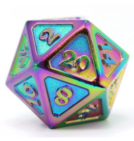 Die Hard Dice DHD: Dire D20 Mythica Scorched Rainbow