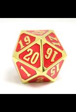 Die Hard Dice Die Hard Dice: Roll Down D20 Shiny Gold Ruby