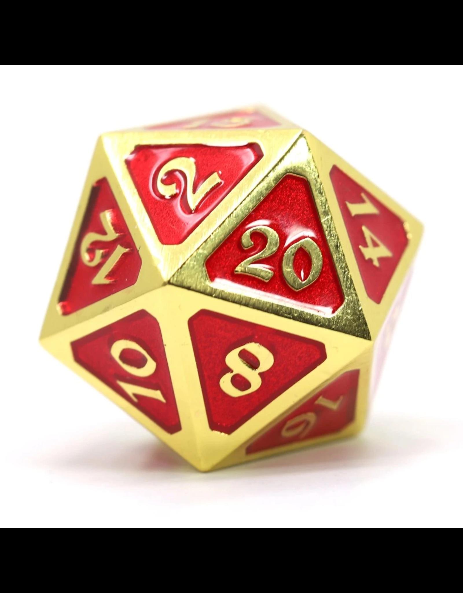 Die Hard Dice Die Hard Dice: Dire d20 Mythica Gold Ruby