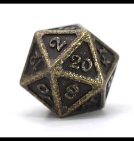 Die Hard Dice DHD: Dire d20 Mythica Dark Gold
