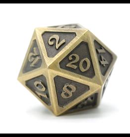 Die Hard Dice DHD: Dire d20 Mythica Battleworn Gold