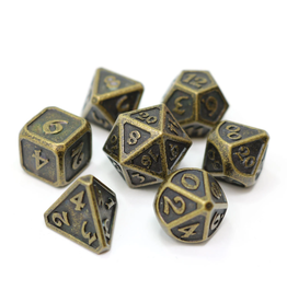 Die Hard Dice DHD: 7-Set Mythica Dark Gold