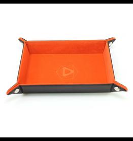Die Hard Dice DHD: Dice Tray Rectangle Orange