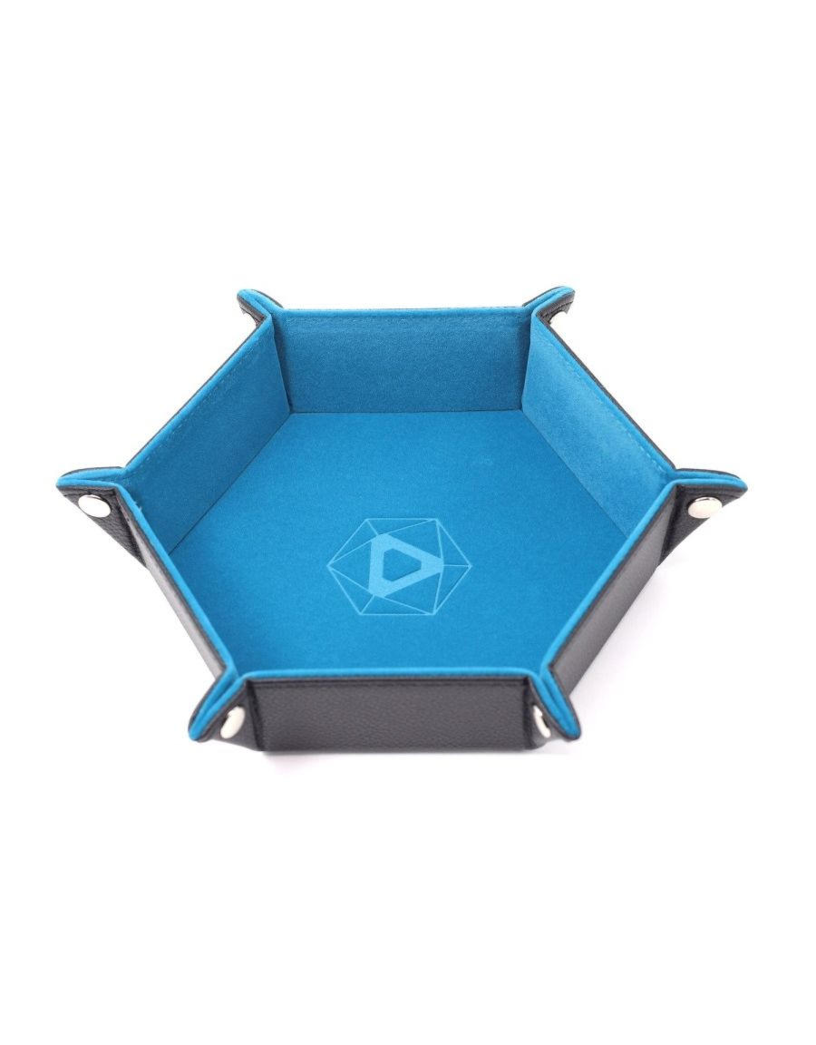 Die Hard Dice Die Hard Dice: Dice Tray Hex Teal