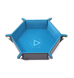 Die Hard Dice DHD: Dice Tray Hex Teal