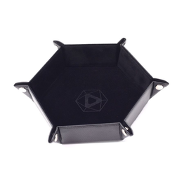 Die Hard Dice DHD: Dice Tray Hex Black