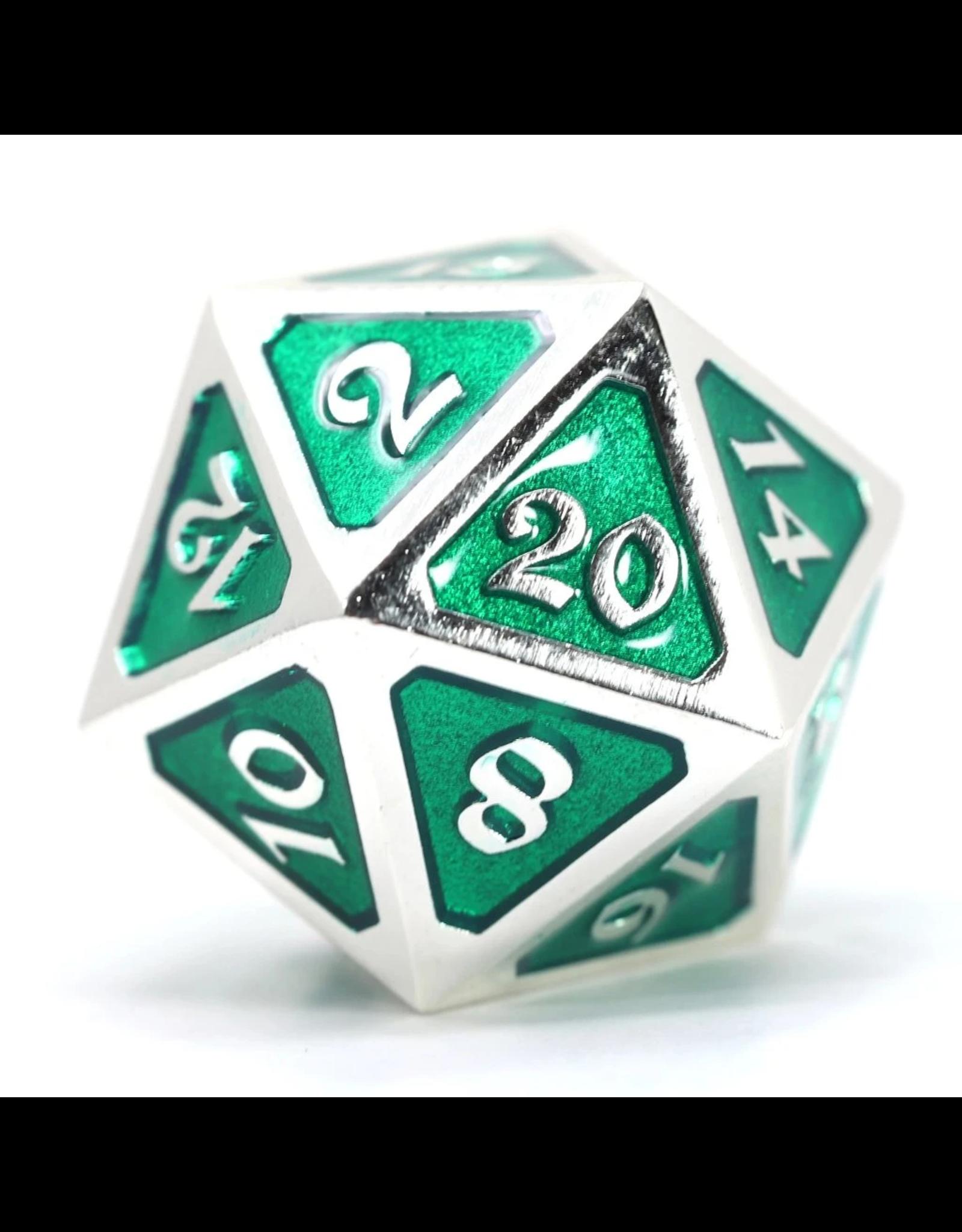 Die Hard Dice Die Hard Dice: Dire d20 Mythica Platinum Emerald