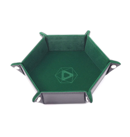 Die Hard Dice DHD: Dice Tray Hex Green