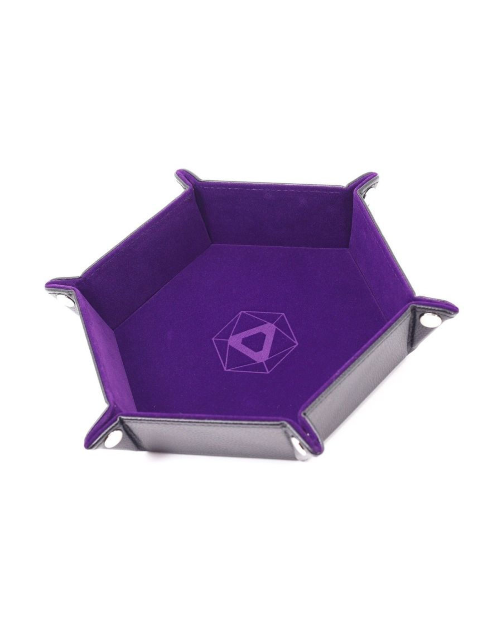 Die Hard Dice Die Hard Dice: Dice Tray Hex Purple