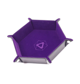 Die Hard Dice DHD: Dice Tray Hex Purple